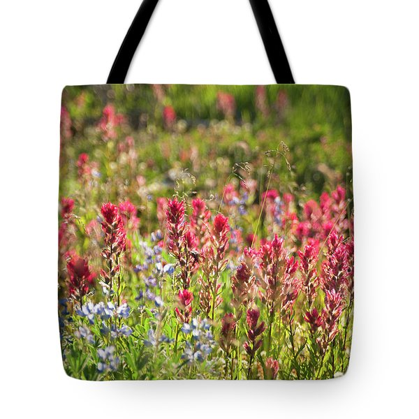 Wild About Wildflowers Tote Bag