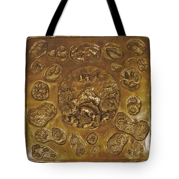 Tote Bag featuring the sculpture Wild And Free by Dawn Senior-Trask