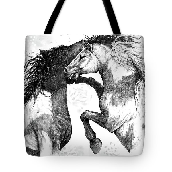 Wild And Free Tote Bag by Heidi Kriel