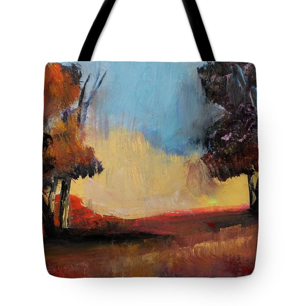 Wild Beautiful Places Trees Landscape Tote Bag