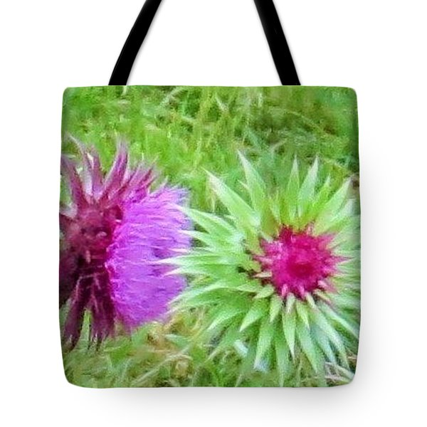 Wild Beauty In The Meadow Tote Bag