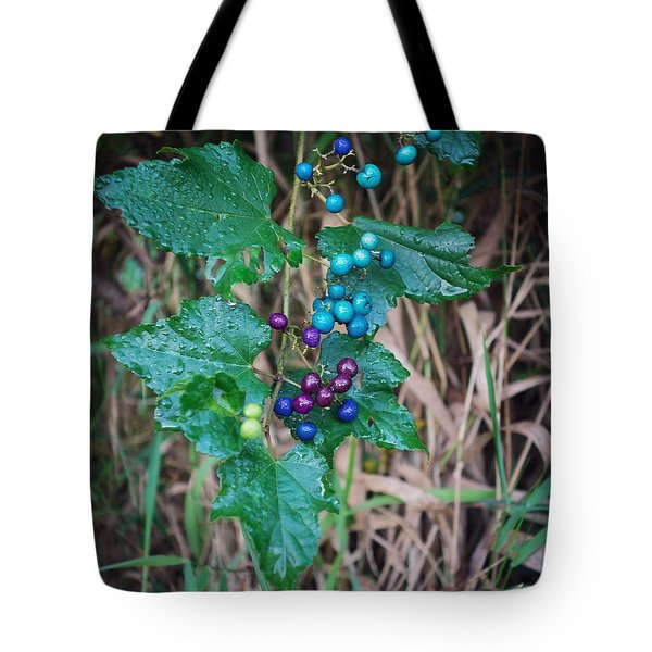 Wild Berries Tote Bag