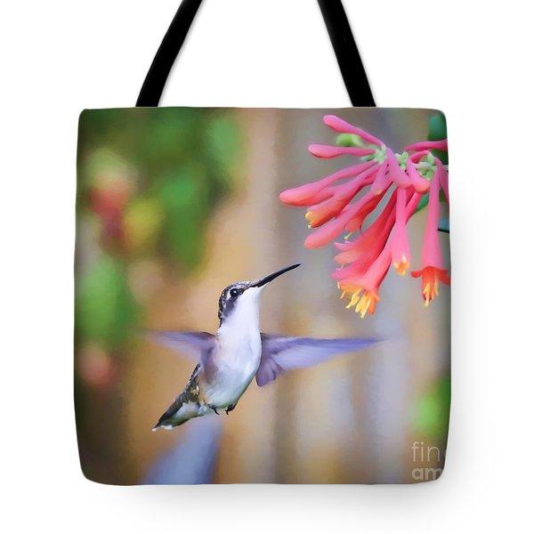 Wild Birds - Hummingbird Art Tote Bag