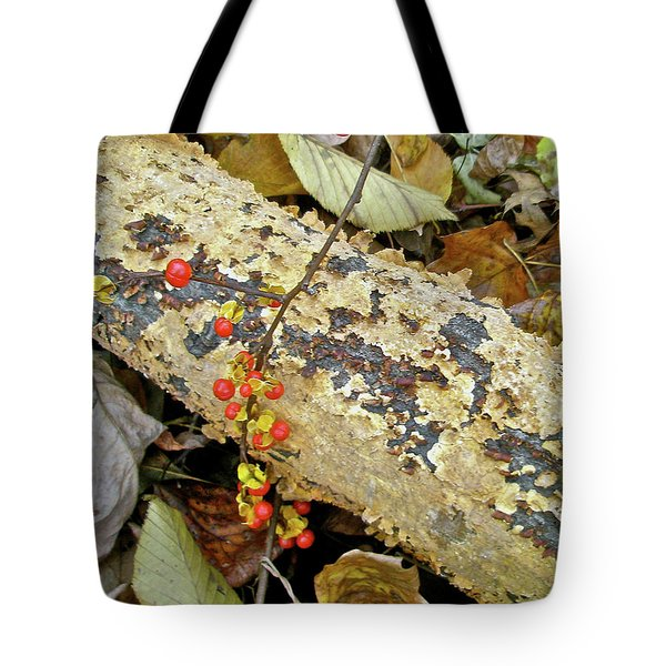 Wild Bittersweet Vine Tote Bag by Mother Nature