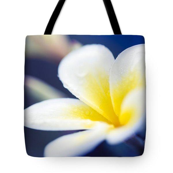 Wild Blue Morning Tote Bag