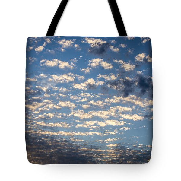 Wild Blue Sunset Tote Bag
