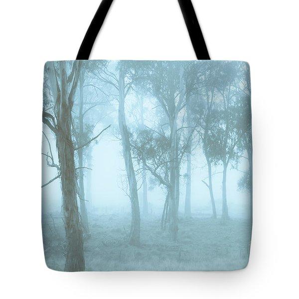 Wild Blue Woodland Tote Bag