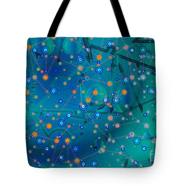The Wild Blueberry Tote Bag by Moustafa Al Hatter