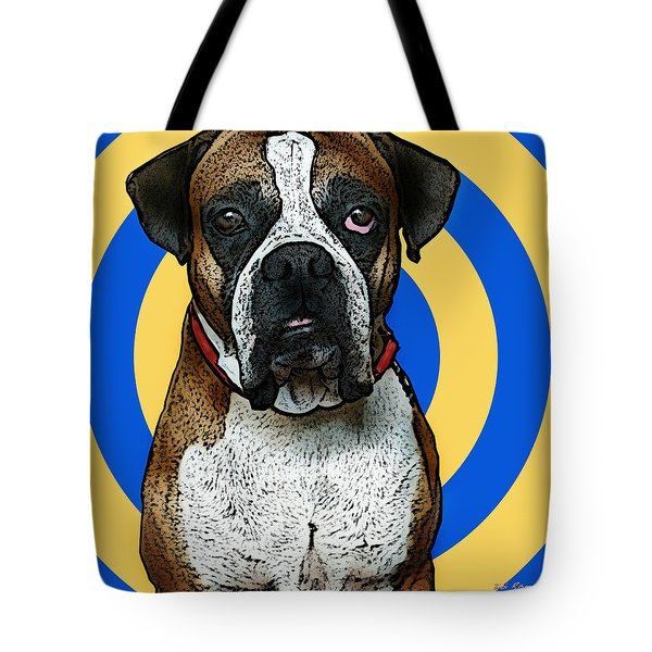 Wild Boxer 1 Tote Bag by Bibi Romer