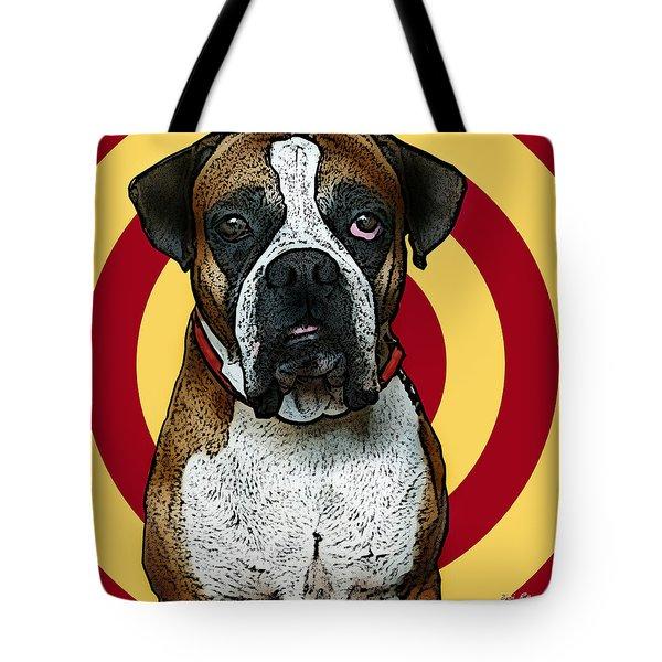 Wild Boxer 2 Tote Bag by Bibi Romer