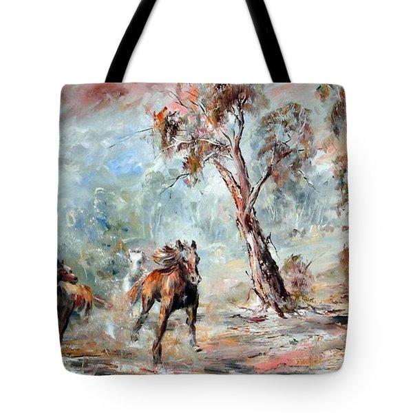 Wild Brumbies Tote Bag