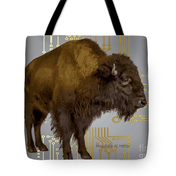 The American Buffalo Tote Bag