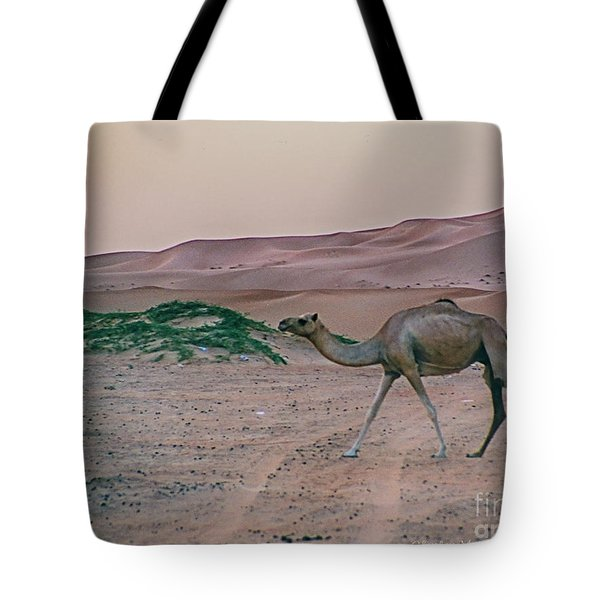 Tote Bag featuring the photograph Wild Camel by Charles McKelroy
