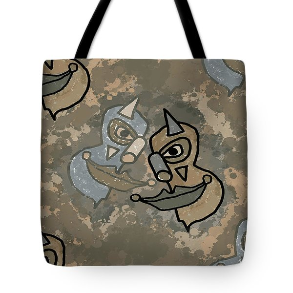 Wild Clown Tote Bag