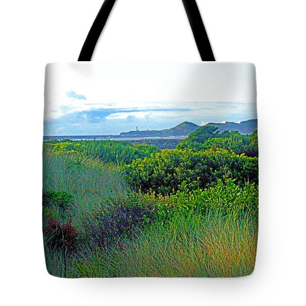 Wild Coastal Flora Tote Bag