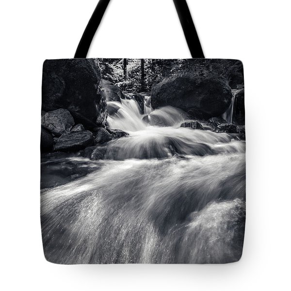 wild creek in Harz, Germany Tote Bag by Andreas Levi