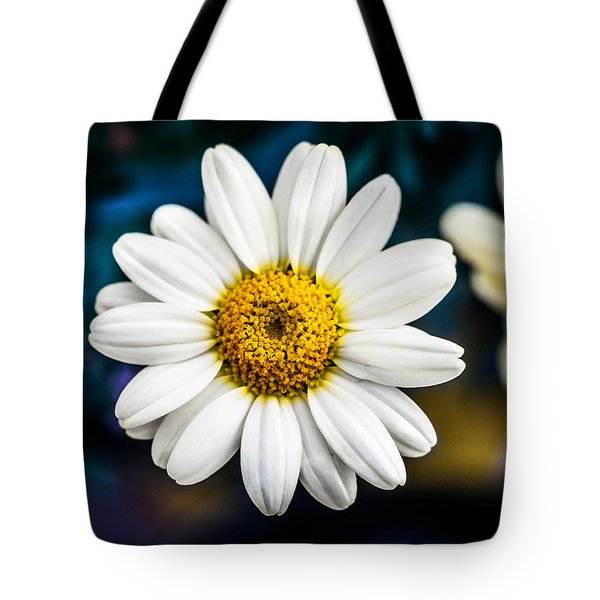 Tote Bag featuring the photograph Wild Daisy by Nick Bywater