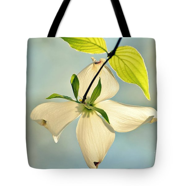 Wild Dogwood Bloom 2 Tote Bag