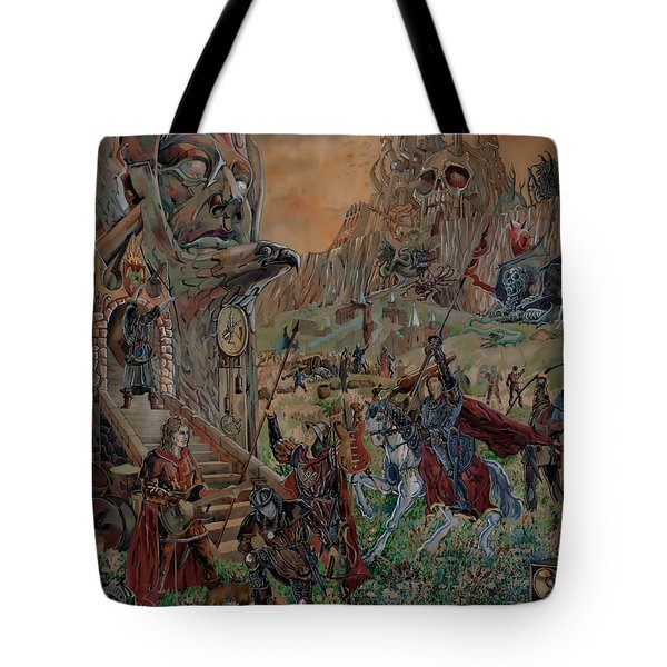 Wild Fantasy Tote Bag