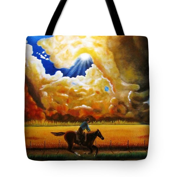 Wild Fire  Tote Bag by Gene Gregory