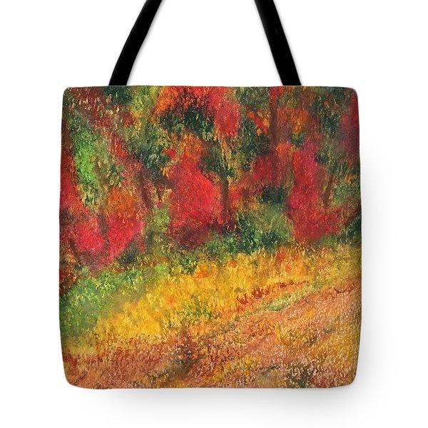 Wild Fire Tote Bag