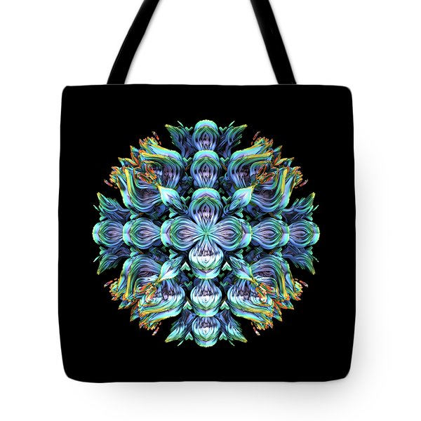 Tote Bag featuring the digital art Wild Flower by Lyle Hatch