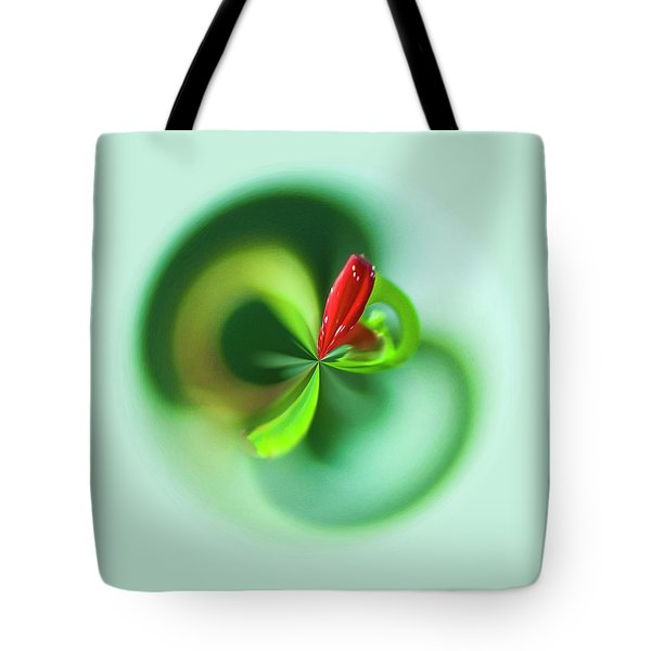Tote Bag featuring the photograph Wild Flower Orb by Bill Barber