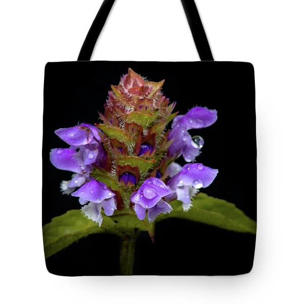 Wild Flower Portrait Tote Bag
