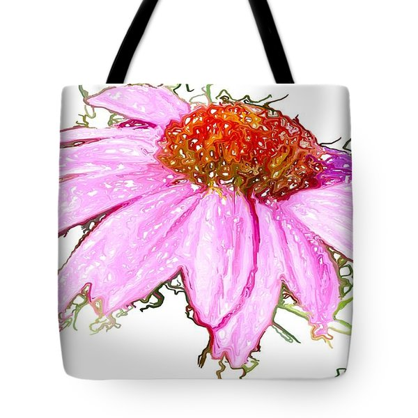 Tote Bag featuring the photograph  Wild Flower Three by Heidi Smith