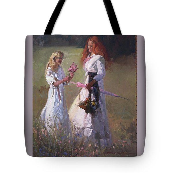 Wild Flowers Tote Bag