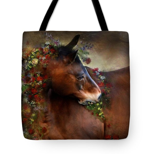 Wild Flowers Tote Bag by Dorota Kudyba