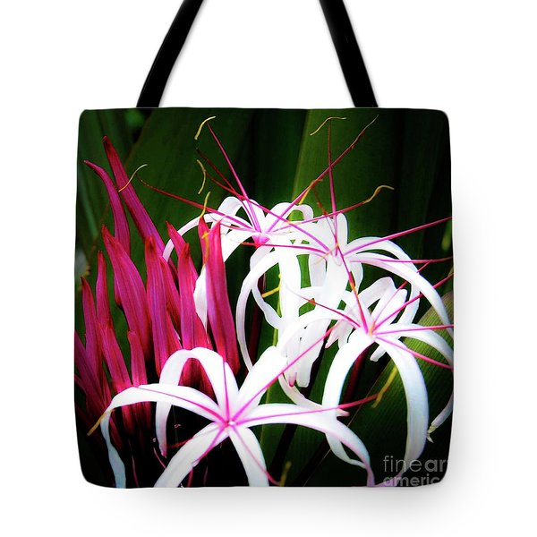 Wild Flowers In Hawaii Tote Bag