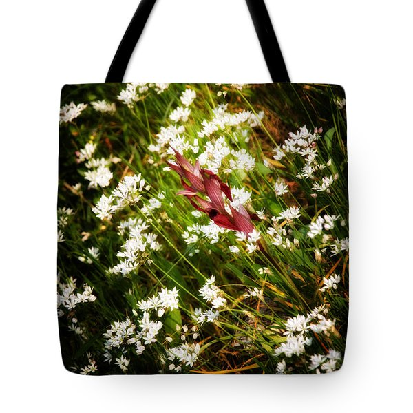 Wild Flowers Tote Bag by Stelios Kleanthous