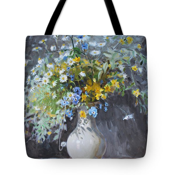 Wild Flowers Tote Bag by Ylli Haruni