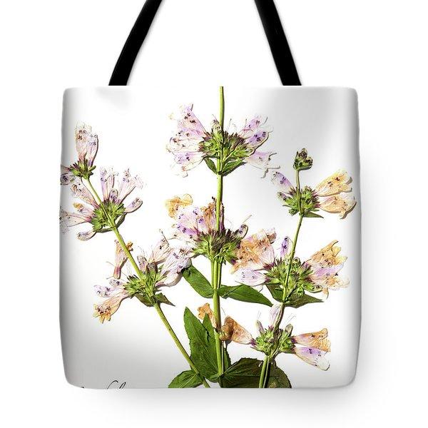 Wild Foxglove Tote Bag