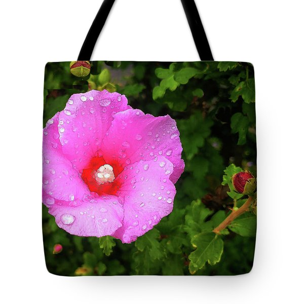 Tote Bag featuring the photograph Wild Glory by Roger Bester