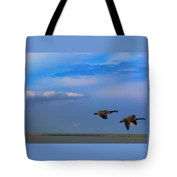 Wild Goose Chase Tote Bag