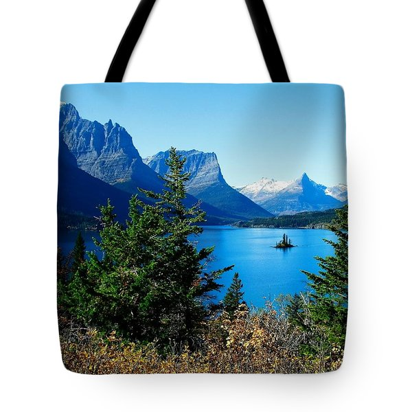 Wild Goose Island In The Fall Tote Bag