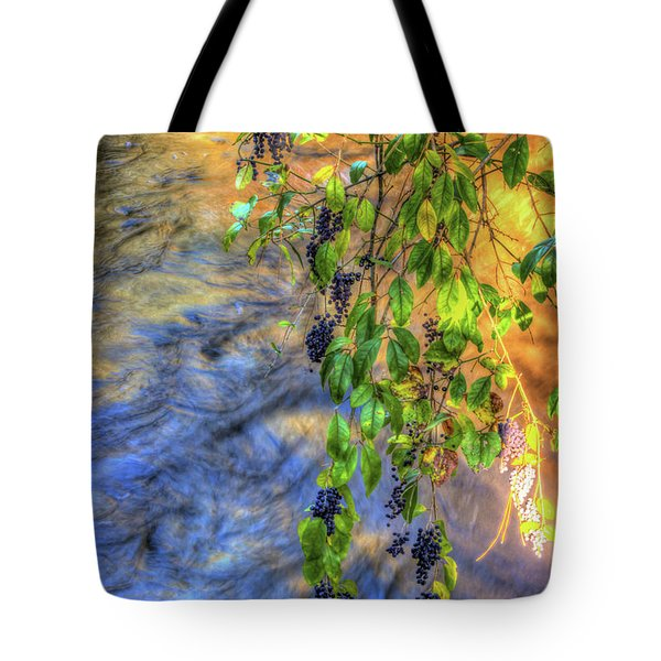 Wild Grapes Tote Bag