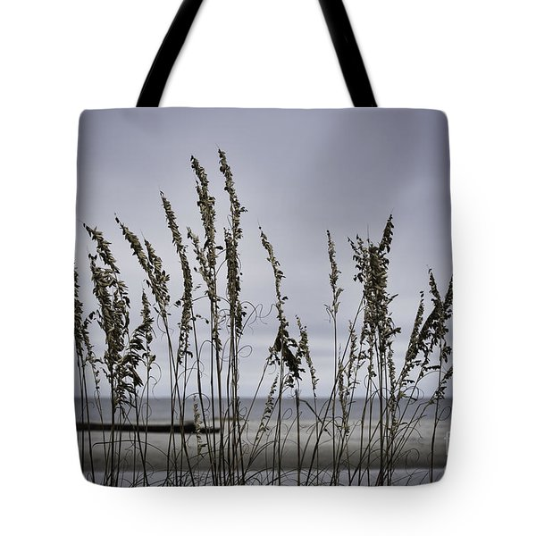 Tote Bag featuring the photograph Wild Grasses by Judy Wolinsky