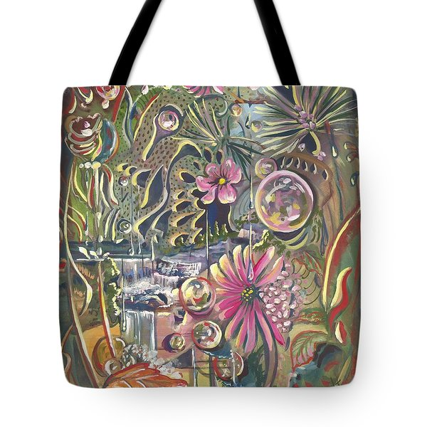 Wild Honeycomb Tote Bag