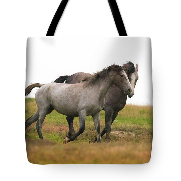 Wild Horses Tote Bag by Kelly Marquardt