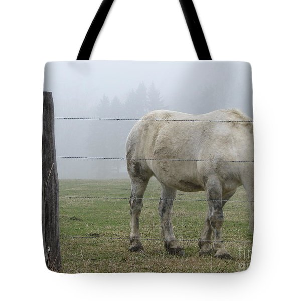 Wild Horses Tote Bag by Michael Krek