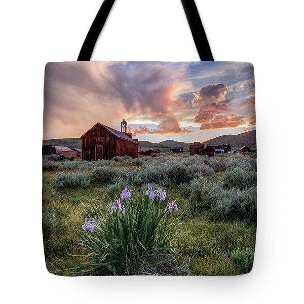 Wild Iris In Bodie Tote Bag