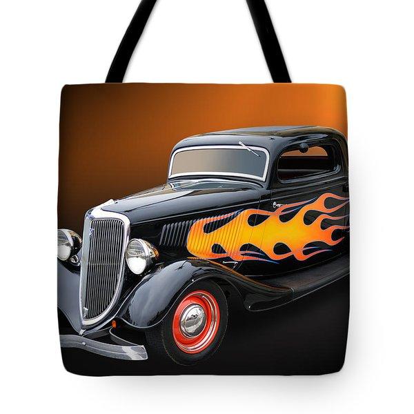 Wild Iron Too Tote Bag