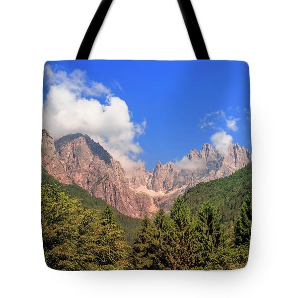 Tote Bag featuring the photograph Wild Italy by Roy McPeak