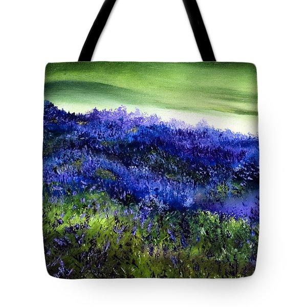 Wild Lavender Tote Bag