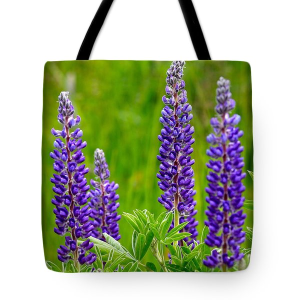Wild Lupine Tote Bag
