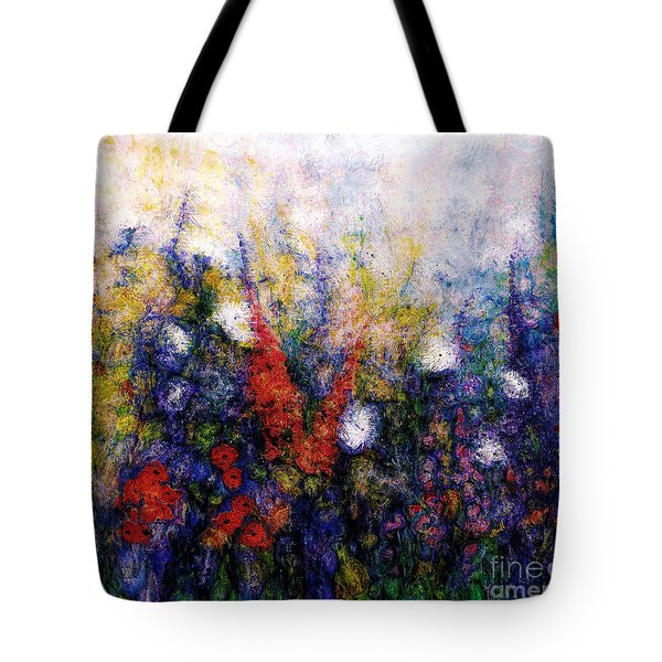 Wild Meadow Flowers Tote Bag by Claire Bull