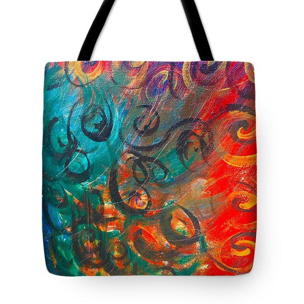 Wild Movement  Tote Bag